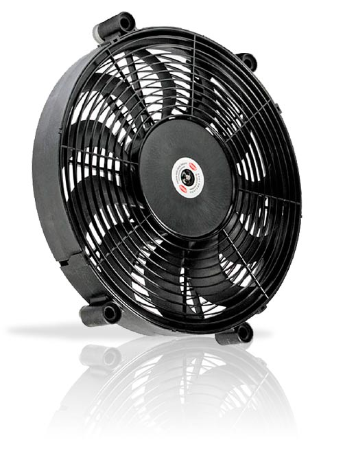 History About The Electric Fan : Kenlowe engine cooling fans